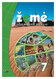 Geografijos atlasas Žemė 7 klasei