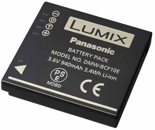 Panasonic Battery DMW-BCF10E 940mAh
