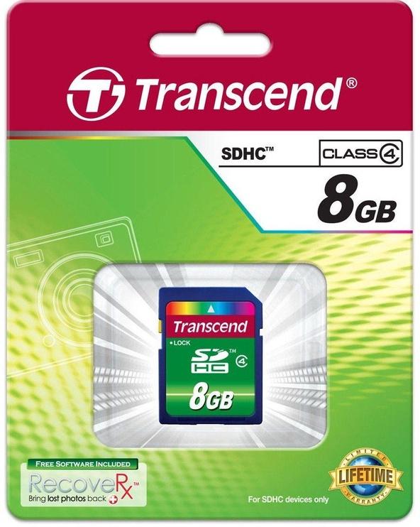 Mälukaart Transcend 8GB SDHC Class 4