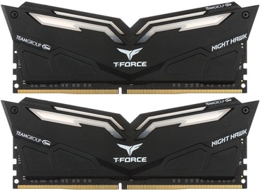 Team Group T-Force Nighthawk White LED 16GB 2666MHz CL15 DDR4 KIT OF 2 THWD416G2666HC15BDC01