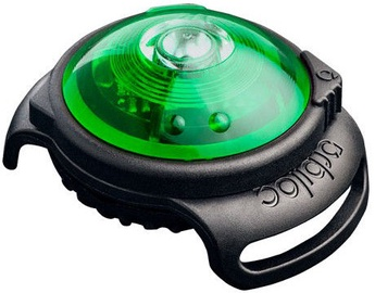Orbiloc Dog Dual Safety Light Black/Green
