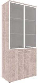 Skyland Xten XHC 85.7 Office Cabinet 85.6x195.5x43.2cm Sonoma Oak