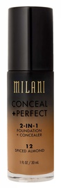 Milani Conceal + Perfect 2in1 Foundation + Concealer 30ml 12