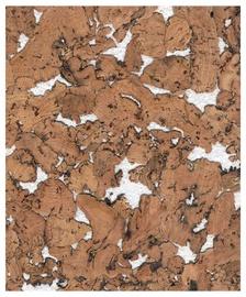 Corksribas Cork Wall Coating IceBerg 30x60cm Brown/White