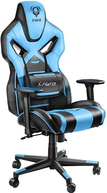Žaidimų kėdė Diablo X-Fighter Black/Blue