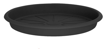 Поддон для вазона Domoletti STTE0031-120, серый, 310 мм