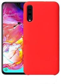 Mocco Liquid Silicone Soft Back Case Samsung Galaxy A50 Red