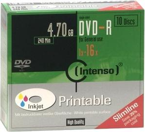 Intenso DVD-R 16x 4.7GB 10pcs. Slim Case 4801652