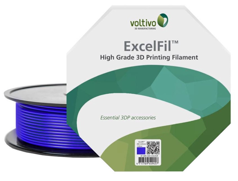 3D printeri kulumaterjal Voltivo ExcelFil, violetne