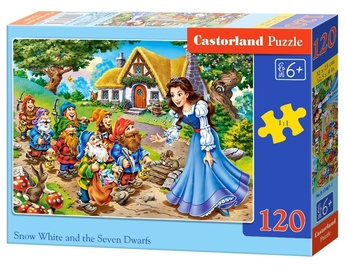 Castorland Puzzle Snow White And The Seven Dwarfs 120pcs