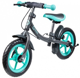 Vaikiškas dviratis Lionelo Balance Bike DAN PLUS Turquoise