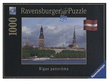 Puzle Ravensburger View Of The City Riga 19057, 1000 gab.