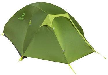 Četrvietīga telts Marmot Vapor 4P 889169550584, zaļa