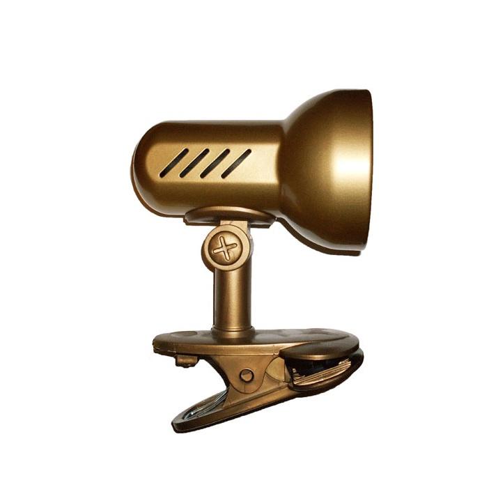 LAMPA GALDA AR KLIPSI K 1.1 40W E14 BRUN (LAMKUR)