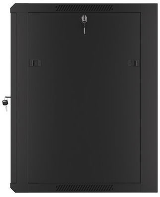 Серверный шкаф Lanberg Wall-Mounted Rack 19'' 15U 570x600mm Black
