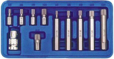 Vorel Screwdriver SPLINE Bit Set 66770 11pcs