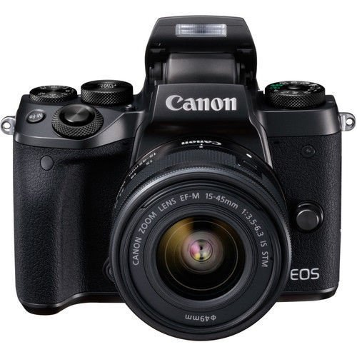 Canon EOS M5 + EF-M 15-45mm Black