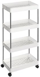 Songmics Storage Rack White 40x22x86cm