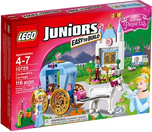 Konstruktors LEGO Juniors Cinderellas Carriage 10729