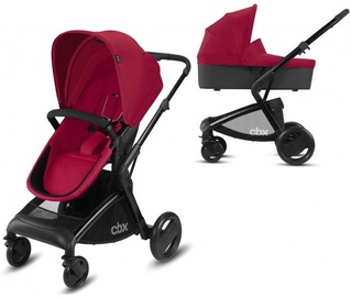Universalus vežimėlis Cybex Leotie Pure 2in1 2018 Crunchy Red
