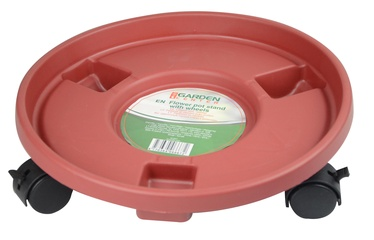 Поддон для вазона Garden Center Pot Plate With Wheels Brown