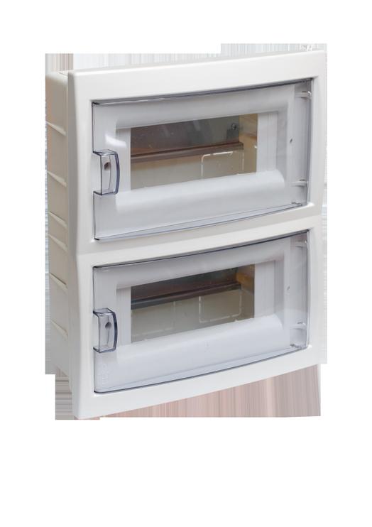 Potinkinė automatinių jungiklių dėžutė Mutlusan, 16 modulių