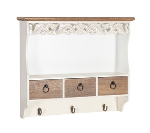 Samira WAT3 Wall Shelf With Drawers 13759
