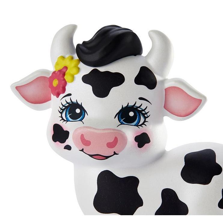 Кукла Mattel Enchantimals Cambrie Cow Кукла With Ricotta Family