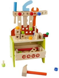 Funikids Wooden Toys Tool Stand