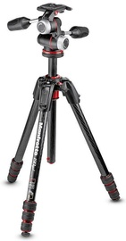 Manfrotto 190go! MS Carbon Tripod Kit MK190GOC4-3WX