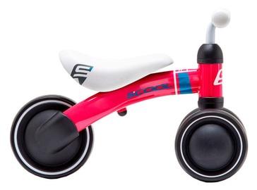 "Vaikiškas dviratis Scool PedeX First 10"" Raspberry Petrol"