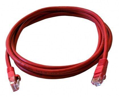 ART Patchcord RJ45 5e UTP 0.5m Red