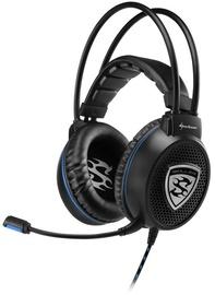 Ausinės Sharkoon Skiller SGH1 Gaming Headset Black
