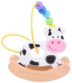 Bigjigs Toys Rocking Bead Frame Cow BB072