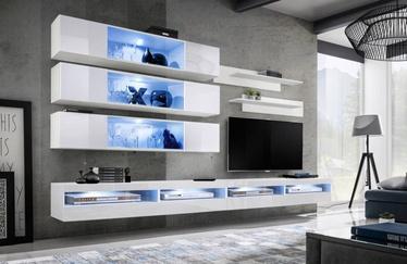 ASM Fly U6 Living Room Wall Unit Set White