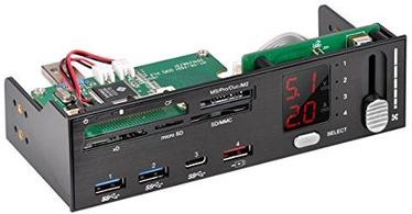 Silverstone SST-FP59 Card Reader + USB Hub + Fan Control