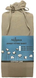 Palags Ardenza Jersey Oyster, 90x200 cm, ar gumiju