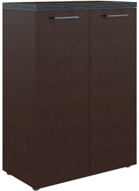 Skyland Office Bookshelf TMC 85.1 85.4x120.3x45.2cm Wenge Magic