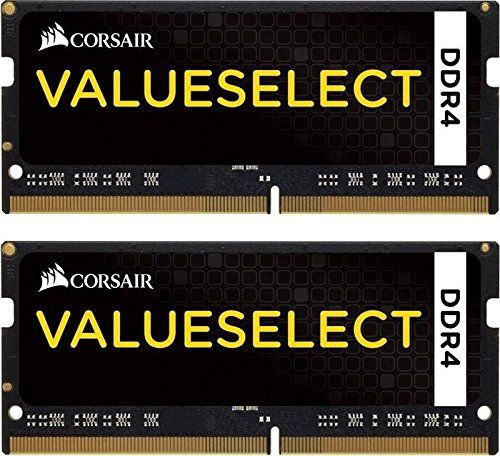 Corsair Value Select 16GB 2133MHz DDR4 CL15 SODIMM KIT OF 2 CMSO16GX4M2A2133C15
