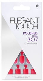 Elegant Touch Polished UV Gel Technology 307 Coral Short