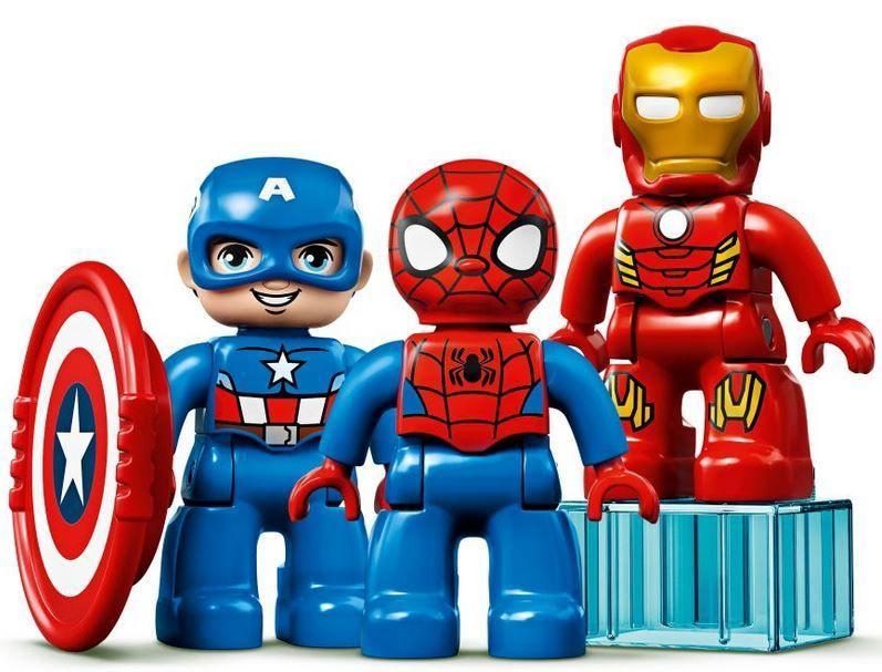 Konstruktor LEGO® Super Heroes 10921 Superkangelaste labor