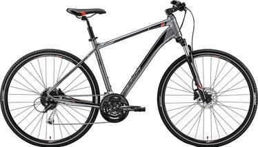 Merida Crossway 100 Grey/Red 55cm/L 2019