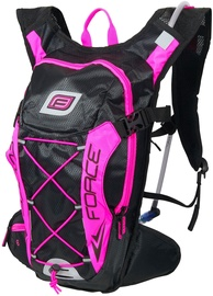 Force Aron Pro Plus Water Backpack 10l/2l Black/Pink