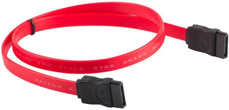 Lanberg SATA III Cable Red 0.3m
