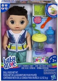 Hasbro Baby Alive Sweet Spoonfuls Brunette Baby Doll Boy E0636