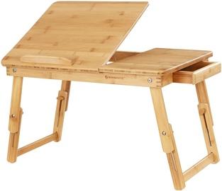 Круг Songmics Laptop Desk Bamboo 63.5x35x33.5cm