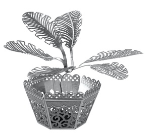 Juguetronica Fascination Metal Earth Sago Palm Tree 3D Metal Model