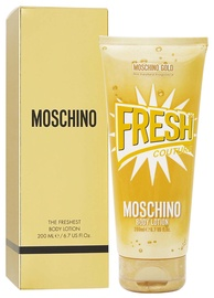 Kūno losjonas Moschino Fresh Couture Gold, 200 ml