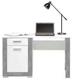BogFran Writing Desk Twin TW12 Gray