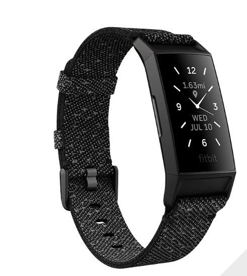 Išmanioji apyrankė Fitbit Charge 4, juoda